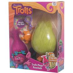"""Мягкая игрушка """"Тролль Fuzzbert, с расческой и карабином"""", Тролли Zuru"""