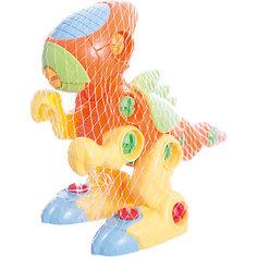 Конструктор Динозаврик (с отверткой), KriblyBoo