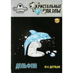 Кристаллический пазл-светильник 3D Дельфин XL Educational Line