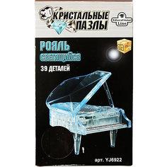 """Пазл """"Рояль XL Светильник"""", 3D Crystal Puzzle Склад Уникальных Товаров"""