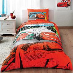"""Детское постельное белье 1,5 сп. TAC, """"Cars"""" Comics"""
