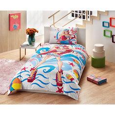 """Детское постельное белье 1,5 сп. TAC, """"Winx"""" Bloom Ocean"""