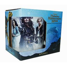 """Кружка """"Пираты Карибского Моря. Трио"""" в подарочной упаковке, 350 мл., Disney"""