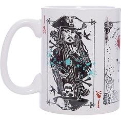 """Кружка """"Пираты Карибского Моря. Карты"""", 500 мл., Disney"""