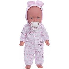Кукла Оливия в пижамке, умеет стоять, серия soft touch, Vestida de Azul