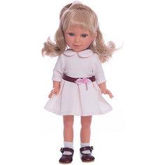 Кукла Паулина, блондинка волна, Весна Оксфорд, Vestida de Azul