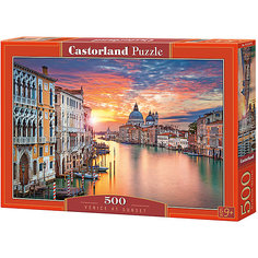 "Пазлы ""Венеция на закате  "", 500 деталей, Castorland"