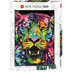 """Пазлы """"Не шутите с тигром"""", 1000 деталей, Heye"""