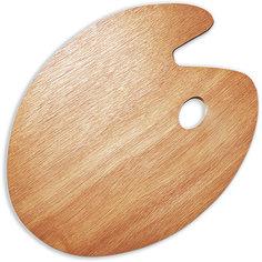 Овальная деревянная палитра Малевичъ, 30х40 см
