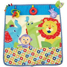 Мягкое одеяло Fisher-Price «Пойдем на прогулку» Mattel