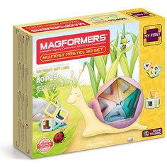 Магнитный конструктор My First Pastel Set 30, MAGFORMERS