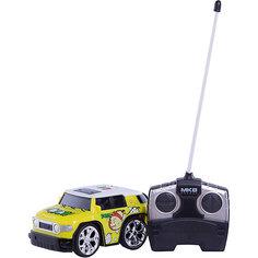 Машинка на радиоуправлении Mini, желтая, Blue Sea