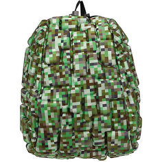 """Рюкзак """"Blok Half"""" Digital Green, цвет зеленый мульти Mad Pax"""