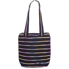 Сумка Premium Tote/Beach Bag, цвет черный/мульти Zipit