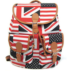 "Рюкзак ""British Flag"" с 2-мя карманами, цвет мульти Creative LLC"