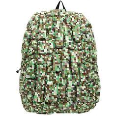 "Рюкзак ""Blok Full"" Digital Green, цвет зеленый мульти Mad Pax"