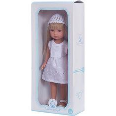 Кукла Карлотта, блондинка с челкой, Лето Винтаж, Vestida de Azul