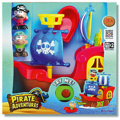 """Игровой набор Keenway """"Приключения пиратов"""""""
