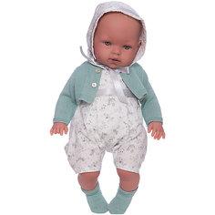 Кукла Vestida de Azul Тонино-инфант в оливковом туалете, мягконабивная серия