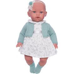 Кукла Vestida de Azul Марина-инфанта в оливковом туалете, мягконабивная серия