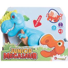 Динозавр Аллозавр, со светом и звуком, голубой, Junior Megasaur