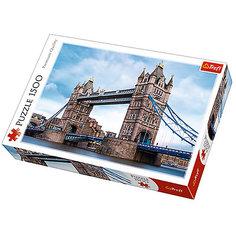 Пазлы Тауэрский мост через Темзу, 1500 элементов Trefl
