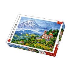 Пазлы «Пейзаж с вулканом», 1000 деталей Trefl