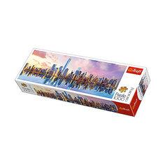 Пазлы панорамные «Манхеттен», 1000 деталей Trefl