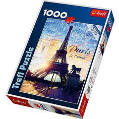 Пазлы Trefl Париж на рассвете, 1000 деталей