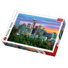 Пазлы «Спейс Нидл, Сиэтл, США», 1500 деталей Trefl