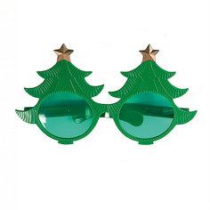 Карнавальные очки Елки из пластика Magic Time