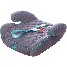 Автокресло-бустер Happy Baby Booster Rider, 15-36 кг, серый