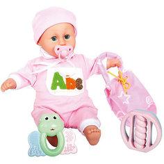 "Интерактивная кукла-младенец ""Моя малышка"", 42 см, DollyToy"