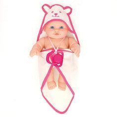 Кукла-пупс Карапуз 3 функции, 23 см с аксессуарами