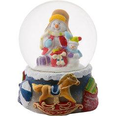 "Снежный шар Magic Time ""Два снеговика"""