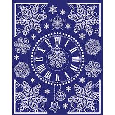 Новогоднее оконное украшение Magic Time