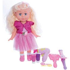 Кукла  30см, озвученная, руссифицированная, закрывывает глазки, с аксессуарами. Карапуз