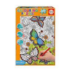"""Пазл-раскраска Educa """"Бабочки"""", 300 деталей"""