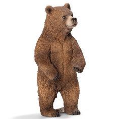 "Schleich Медведь Гризли, самка. Серия ""Дикие животные"""