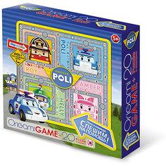 """Настольная игра+пазл Origami """"Робокар Поли"""" Поли и команда спешат на помощь, 20 деталей"""