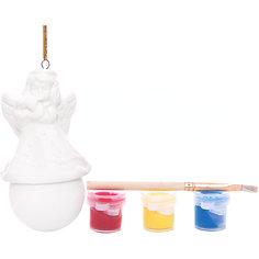 Набор для детского творчества, снеговик, 3 краски, коробка 4.7x4.7x7.9см Mag2000