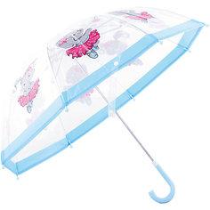 """Зонт детский прозрачный """"Зайка танцует"""", 46 см. Mary Poppins"""