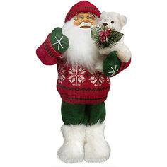 Дед Мороз в Красном Свитере, с Мишкой Maxitoys
