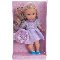 """Классическая кукла Mary Poppins """"Маленькая леди с браслетом"""" Элиза в сиреневом платье, 25 см"""
