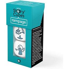 """Настольная игра Rorys Story Cubes Кубики историй """"Буйства"""" 3 кубика (доп. набор)"""