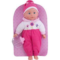 """Кукла-пупс Mary Poppins """"Милый болтун"""" Полли в комбинезоне и шапочке, 33 см (звук)"""