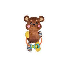 """Развивающая игрушка Жирафики """"Мишка"""" с погремушкой"""