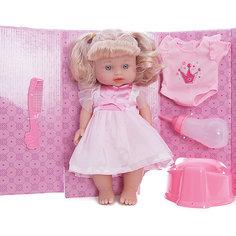 "Интерактивная кукла Mary Poppins ""Приучаемся к горшку"" Лизи в розовом, 30 см"