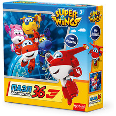 """Пазл """"We deliver!"""", Super Wings, Origami"""