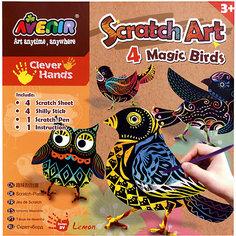 """Набор для гравюры """"Волшебные птички"""" Avenir"""